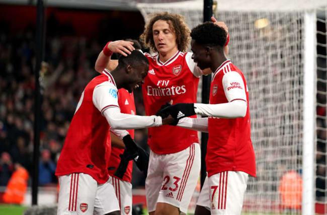 Bukayo Saka has aspirations to be a winger at Arsenal