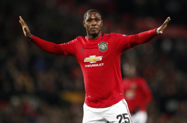 How Odion Ighalo fared on his first Manchester United start