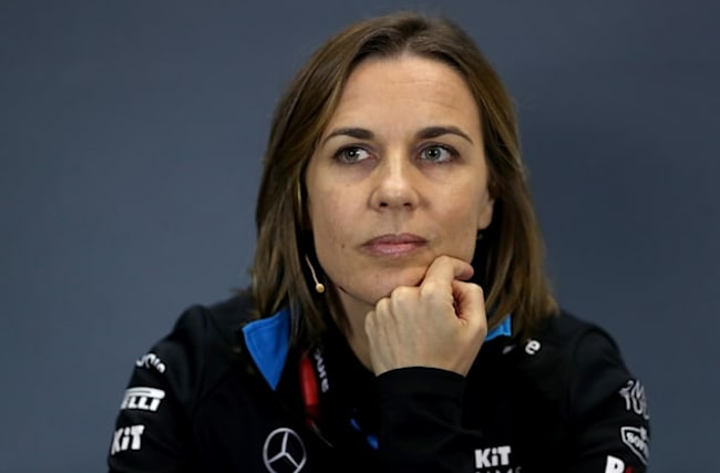 Claire Williams: They maybe give me a rougher time because I am a woman