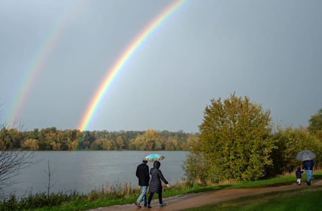Wet and windy with a strong chance of rainbows – half-term forecast