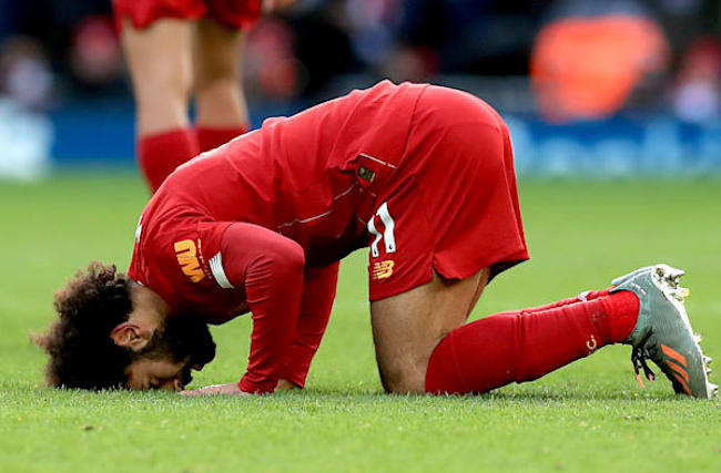 Salah scores twice as Liverpool march on with win over Watford