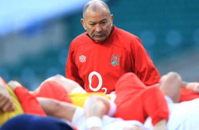 Eddie Jones admits to being embarrassed by the brilliance of Sir Dave Brailsford