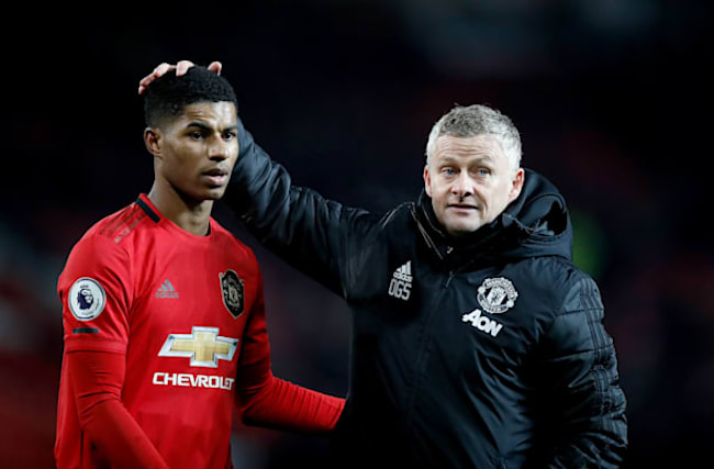 Rashford played like he was in the playground with his mates, says Solskjaer