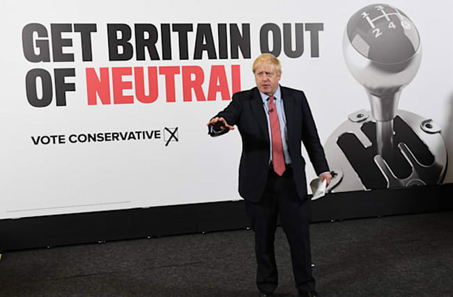 I can move Britain into top gear with election win, Boris Johnson says