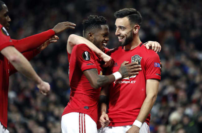 Fernandes and Ighalo make impact as Manchester United hammer Club Brugge