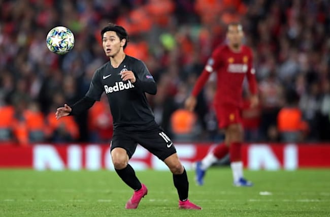Liverpool keen to secure 'outstanding' capture of Salzburg star Minamino