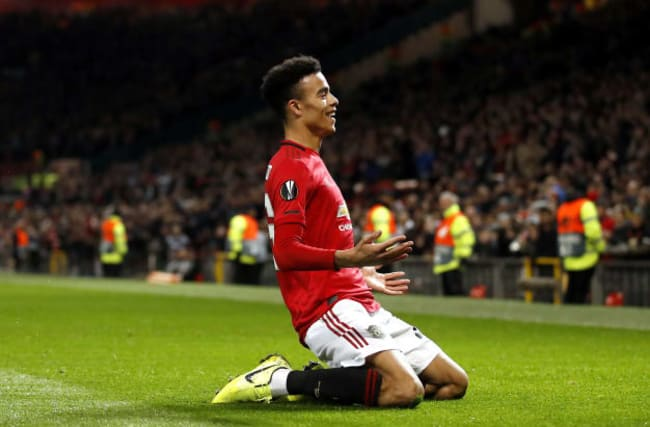 Mason Greenwood bags a brace as Manchester United beat AZ Alkmaar to win Group L