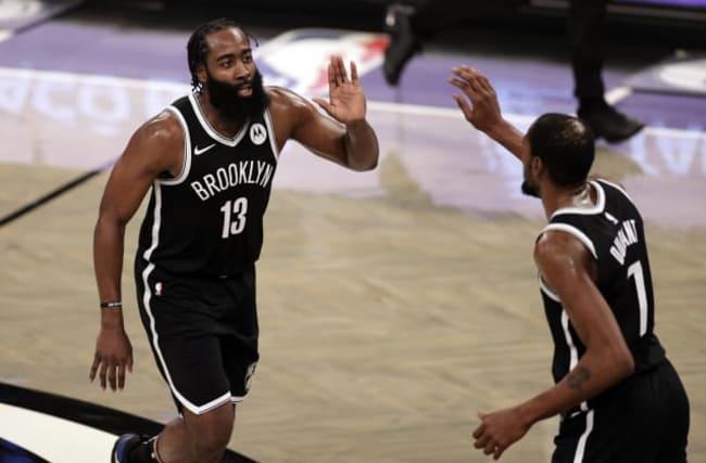 James Harden stars as Brooklyn Nets defeat Milwaukee Bucks in NBA thriller