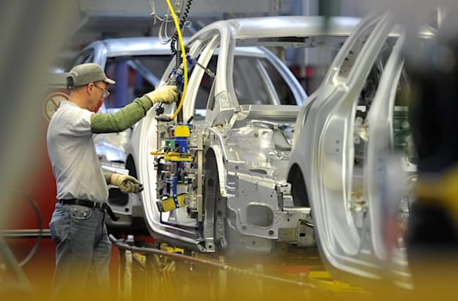 Car production hit lowest September level since 1995, figures show