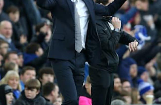 Everton caretaker manager Ferguson emotional after win over Chelsea