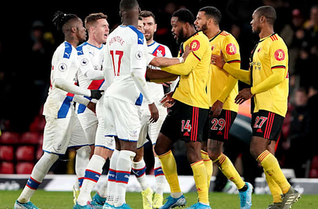 Pearson watches on as Watford are held at home by Crystal Palace
