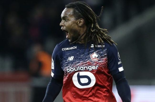 Renato Sanches lifts Lille with late winner