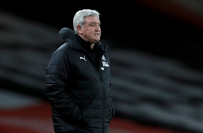 Steve Bruce sure he is right man for Newcastle despite losing again at Arsenal