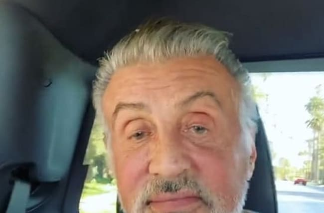 73歳にしてなおセクシー!シルヴェスター・スタローンが自然な白髪姿に