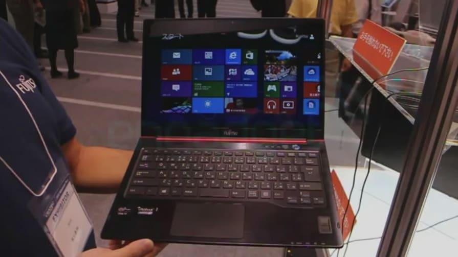 Fujitsu LifeBook UH75 With Windows 8 Hands-On
