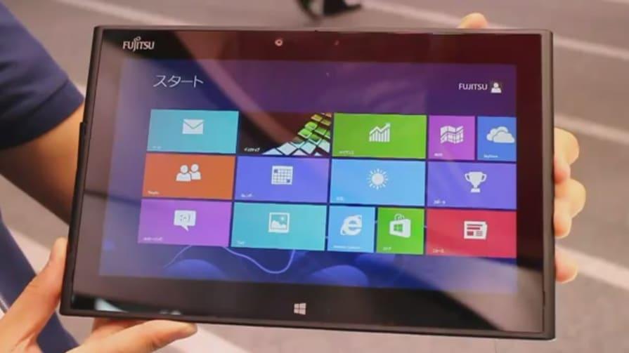 Fujitsu Arrows Tab With Windows 8 Hands-On