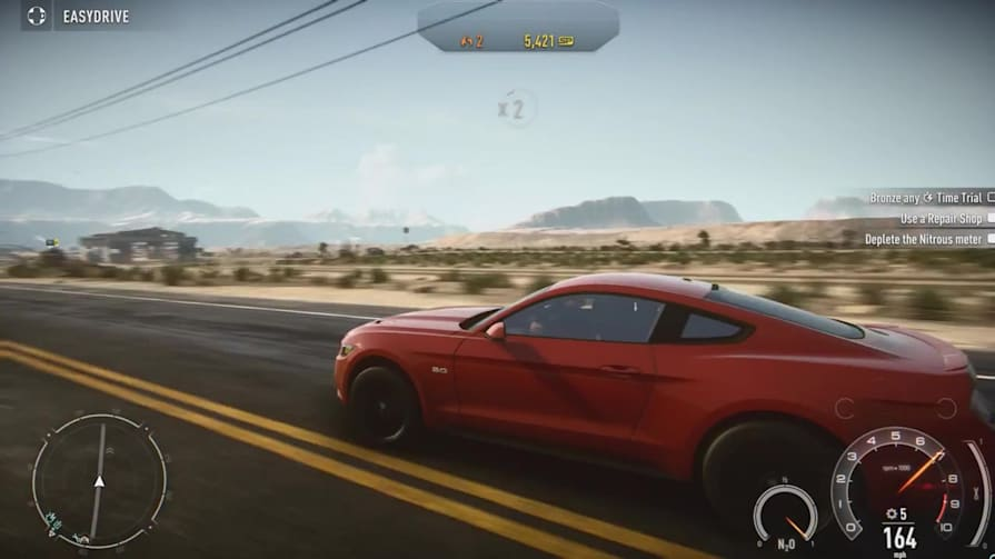 Need for Speed Rivals (2015 Ford Mustang Gameplay)