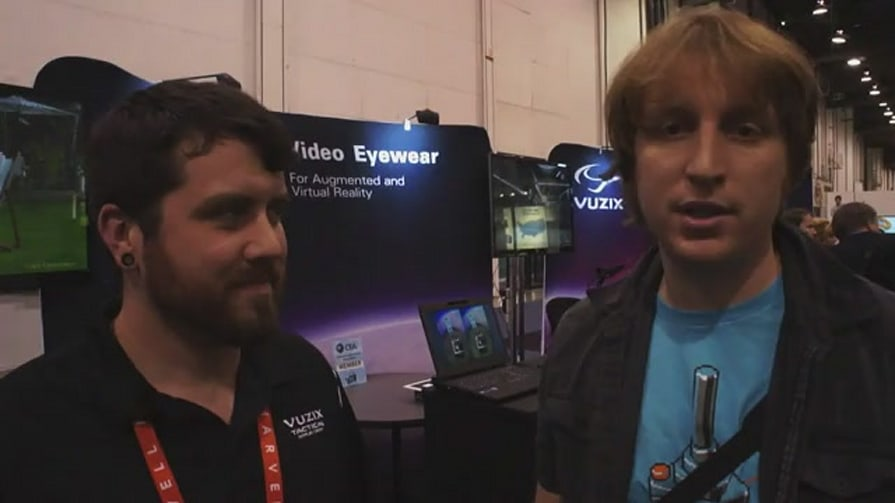 Vuzix Smart Glasses Technology Eyes-on at CES 2012