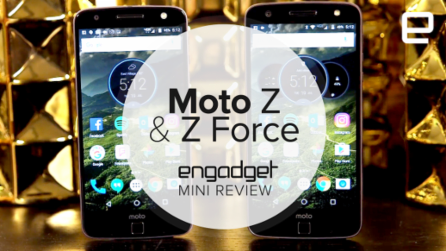 Motorola Moto Z and Z Force Droid Edition Mini Review