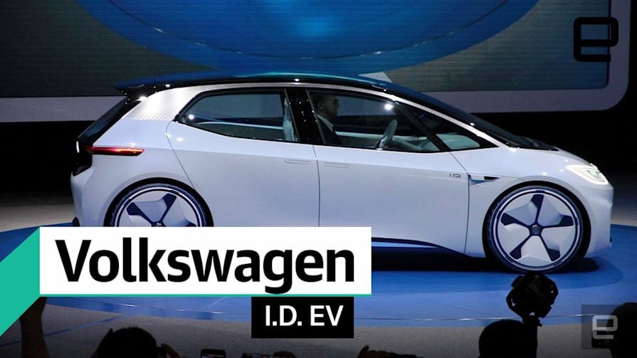 First look at the Volkswagen ID electric concept car