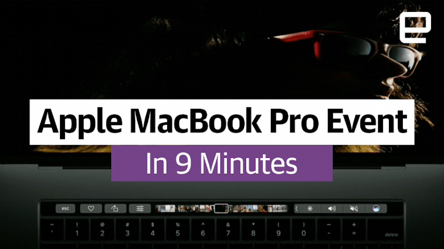 Apple's MacBook Pro Event in 9 Minutes