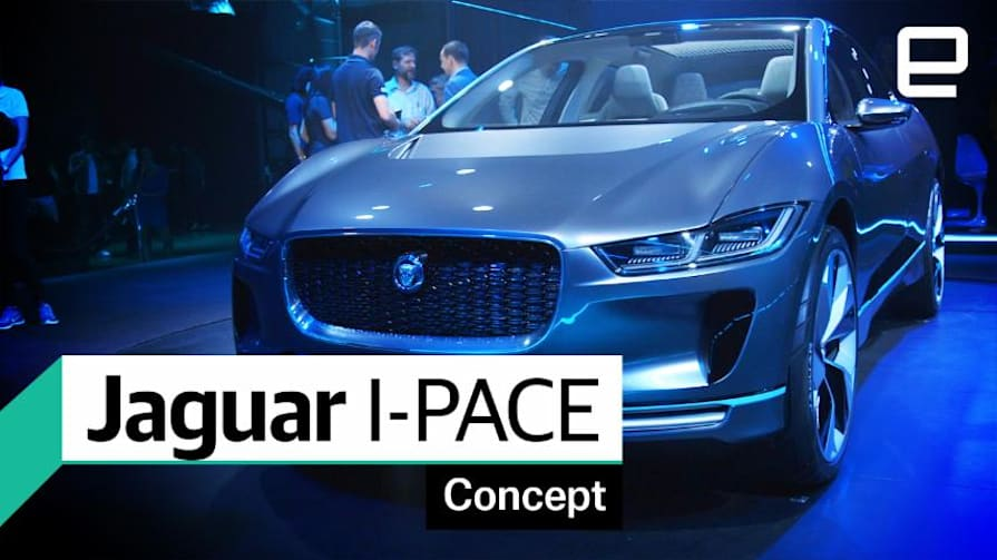 Jaguar I-PACE: First Look