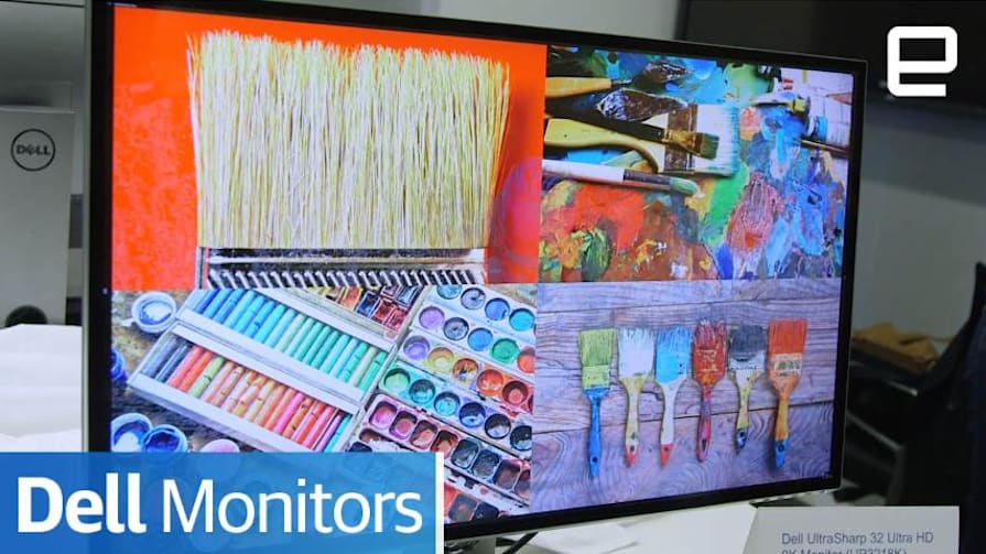 Dell Canvas and monitors : Hands-on