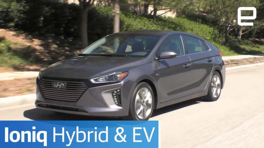 Hyundai Ioniq Hybrid & EV | Hands-On