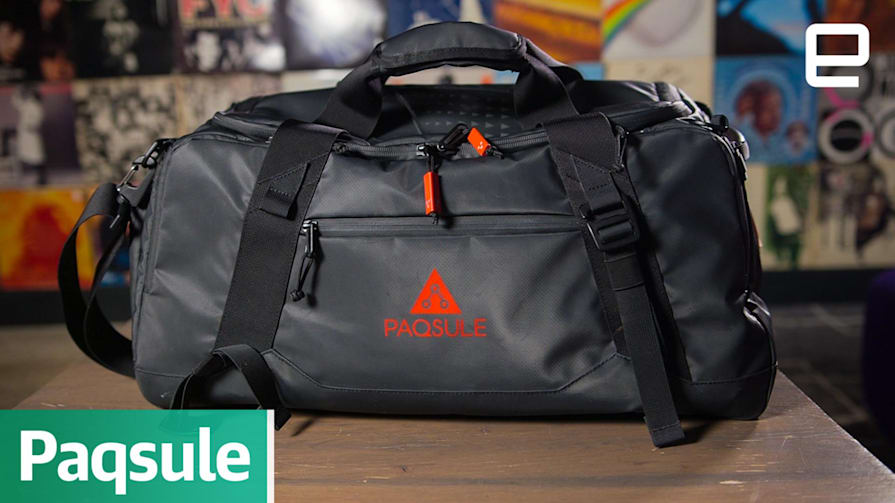 Paqsule: The gym bag the cleans itself | First Look
