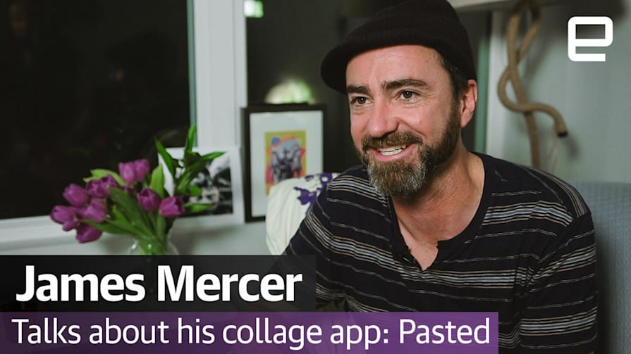 James Mercer talks about his collage app: Pasted   SXSW 2017