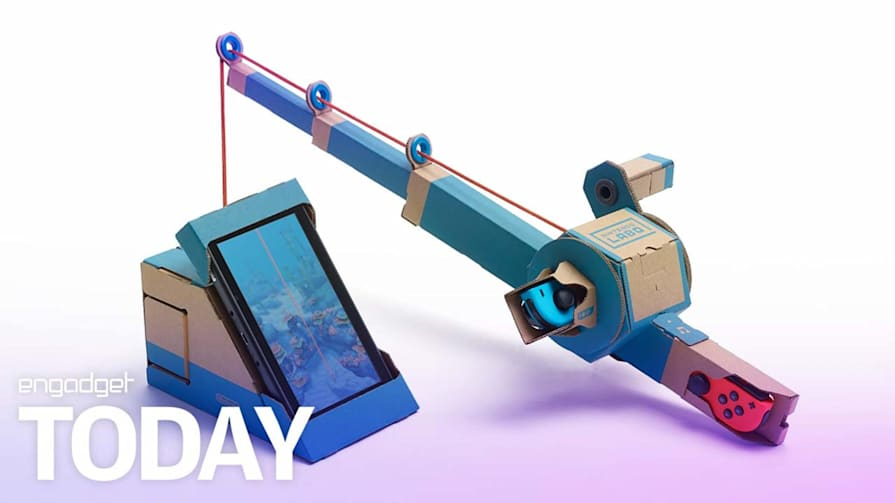 Nintendo Labo is a DIY cardboard kit for the Switch | Engadget Today