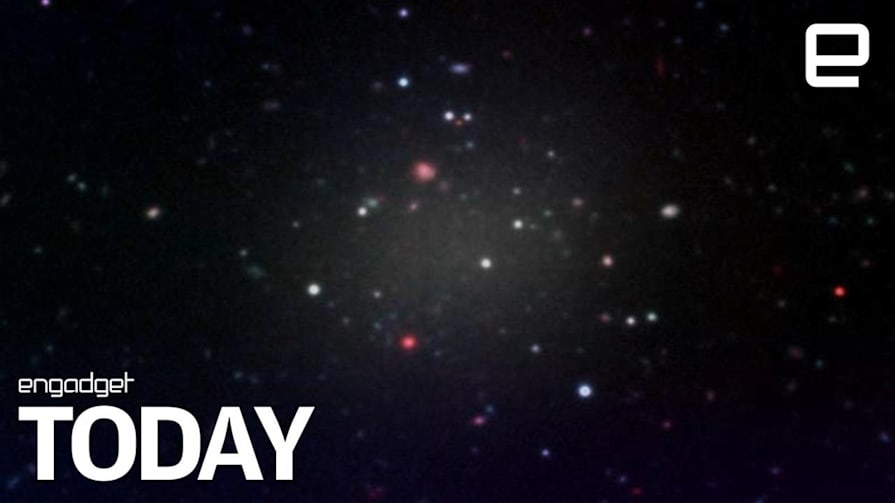 This galaxy defies known rules because it has no dark matter | Engadget Today