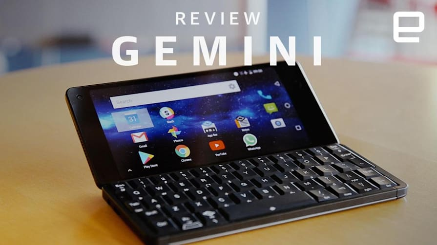 Gemini (Planet Computers) Review