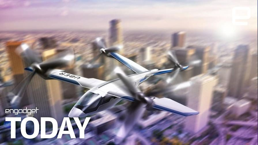 Uber teams with aerospace partners for its air taxi project | Engadget Today