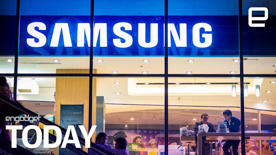 Samsung's foldable smartphone could be revealed as soon as November | Engadget Today