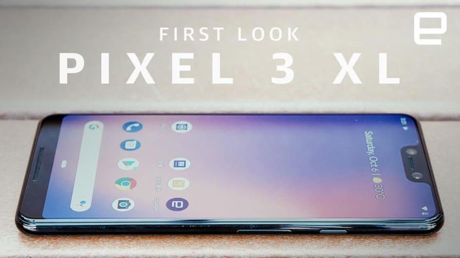 Google Pixel 3 XL preview in Hong Kong