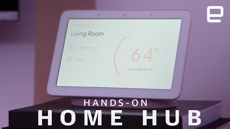 Home Hub Hands-On: A surprisingly compact smart display