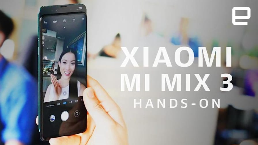 Xiaomi Mi Mix 3 hands-on