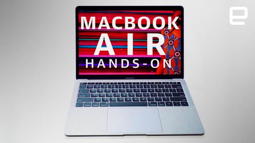 MacBook Air 2018 Hands-On
