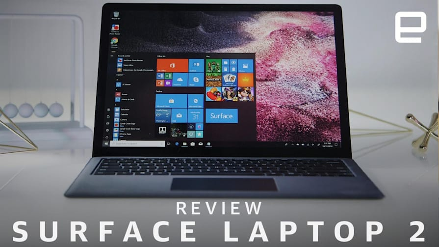 Surface Laptop 2 Review: Nearly Perfect