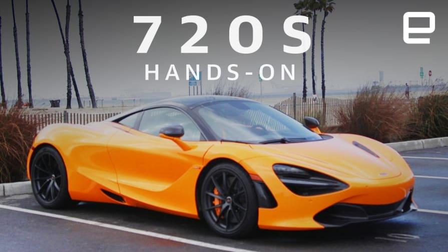 McLaren 720S Hands-On