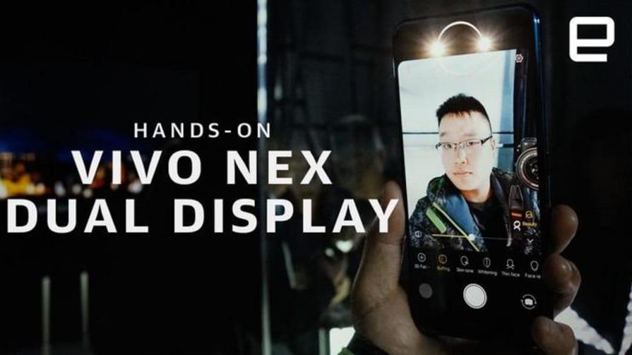 Vivo NEX Dual Display Edition hands-on
