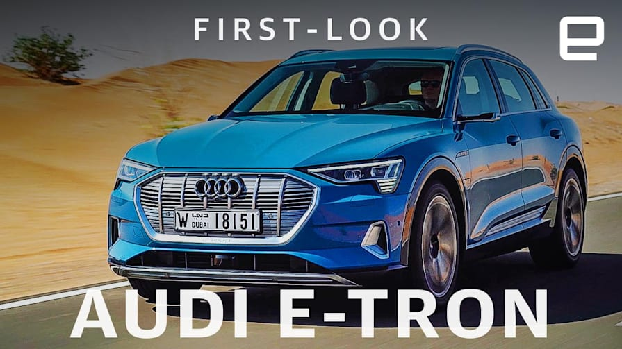 Audi E-Tron SUV First Look: Blending luxury with cutting-edge tech