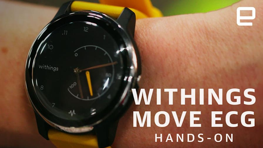 Withings Move ECG Hands-On: A Smartwatch with a Useful Twist