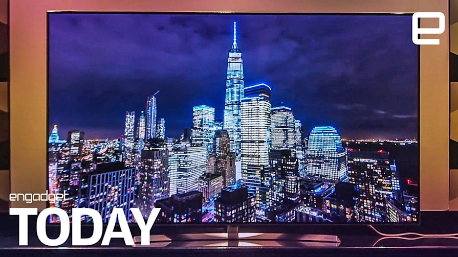 Samsung's new 8k TV chip could eliminate bezels   Engadget Today
