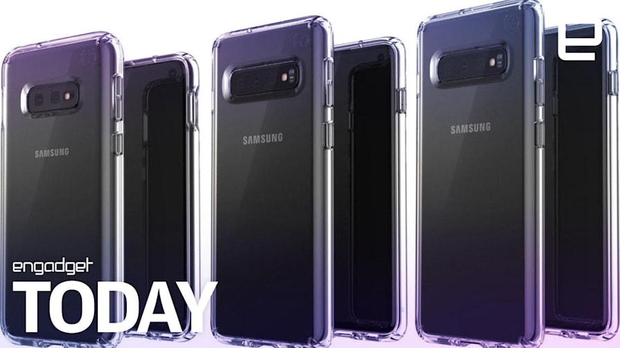 Samsung's Galaxy S10 phones will support next-generation WiFi | Engadget Today