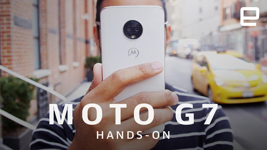 Motorola Moto G7, G7 Power and G7 Play Hands-On