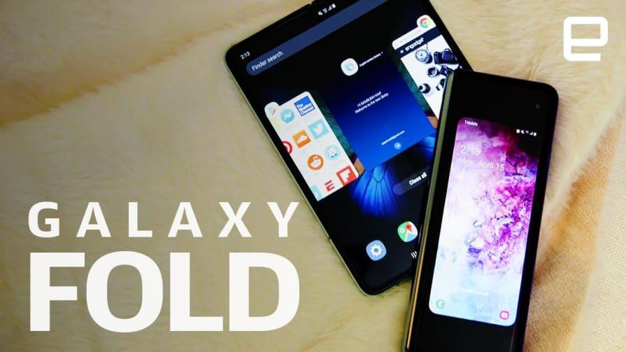 Samsung Galaxy Fold Hands-On: Satisfying despite the crease