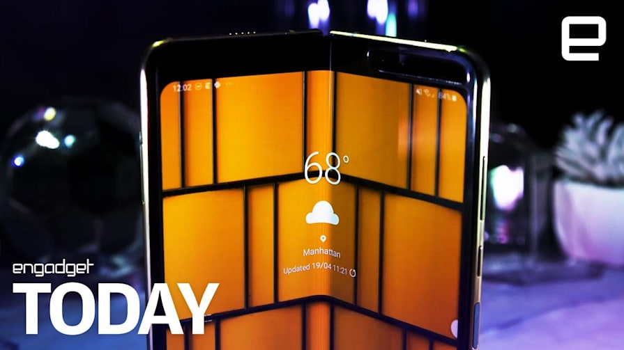 Samsung is reportedly delaying the Galaxy Fold due to display issues | Engadget Today