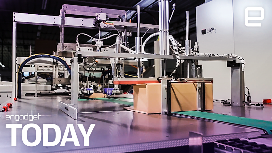 Amazon is testing robots that box up your orders   | Engadget Today